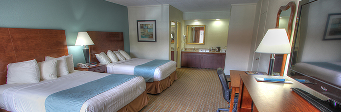 Hotel Room with Two Queen Beds at Crossroads Inn and Suites